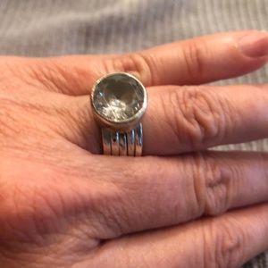 Silpada stack ring